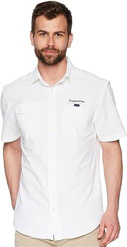 Solid Short Sleeve Harbor Shirt