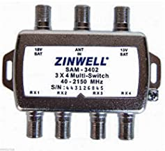 Zinwell 3 x 4 Multi-Switch