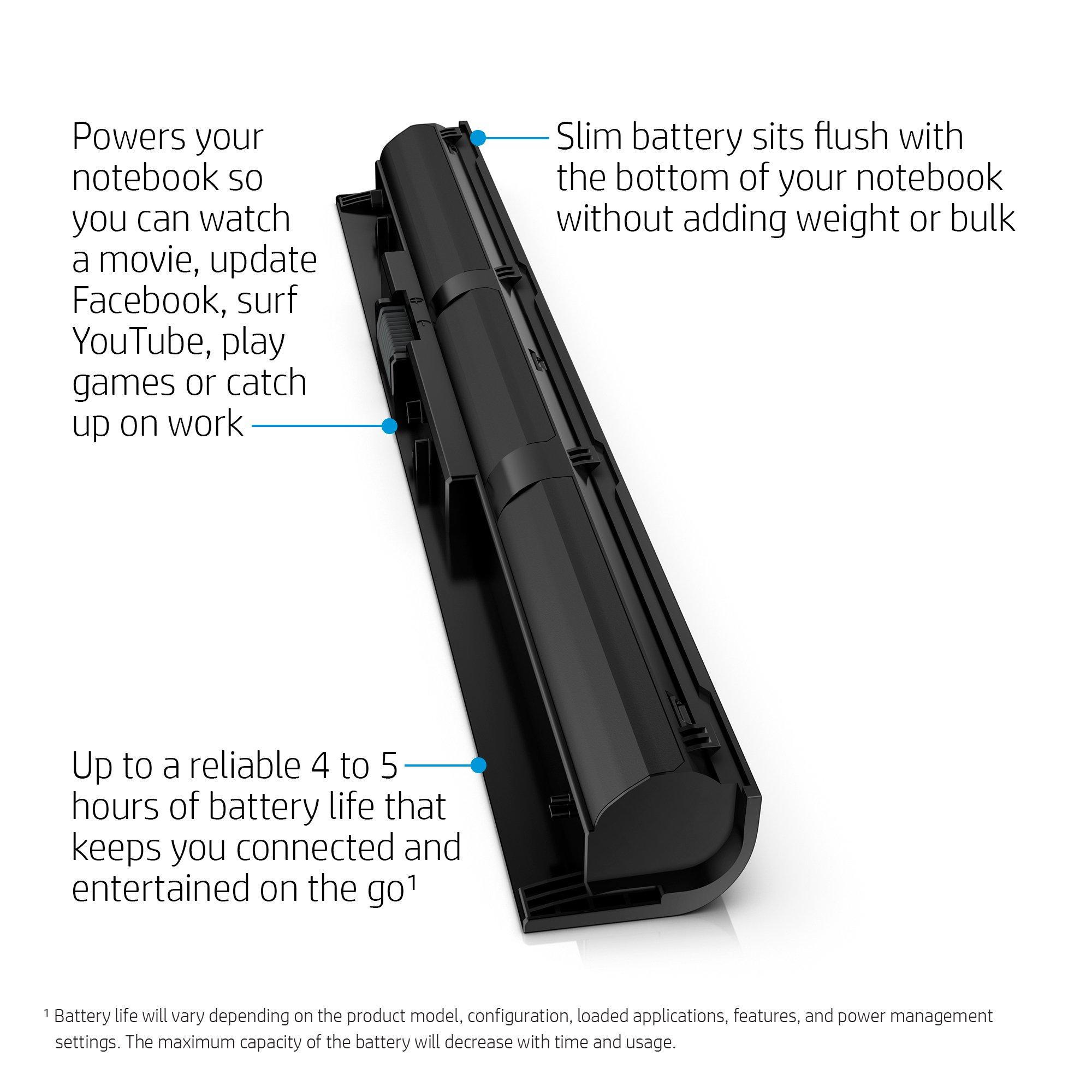 HP VI04 Notebook Battery - Batería/Pila recargable: Amazon.es ...