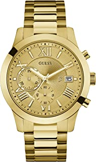 Guess Mens Quartz Watch, Chronograph Display and Stainless Steel Strap W0668G4