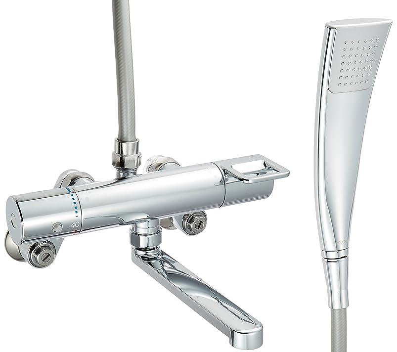 さらに罰する船員TOTO 浴室用水栓 吐水パイプ170mm TMGG40ECR (エアインシャワー?めっき角型)