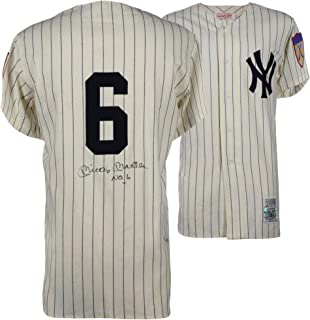 autographed mickey mantle jersey