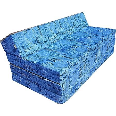 Natalia Spzoo Colchón plegable cama de invitados forma de ...