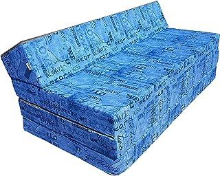 Natalia Spzoo Colchón Plegable Cama de Invitados Forma de sillón sofá de Espuma 200 x 120 cm (009)