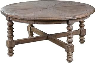 Uttermost Wood Samuelle 42W Reclaimed Fir Coffee Table Model-24345