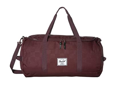 Herschel Supply Co. Sutton (Plum Dot Check) Duffel Bags