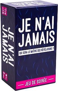 JE N'AI JAMAIS - Le Jeu des Révélations Entre Amis - Jeu de Société pour Animer Soirées et Apéros   Jeu de Cartes Adulte e...