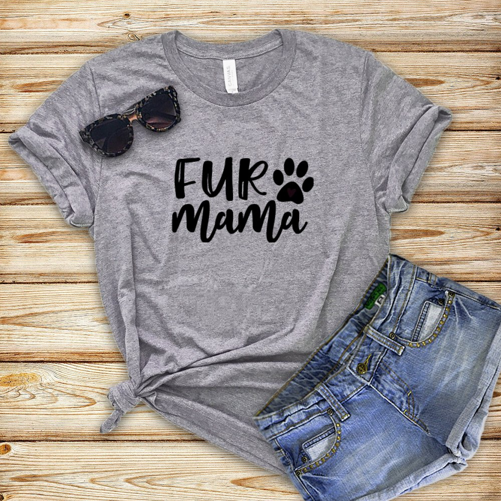 Fur Mama T Free Shipping Cheap Bargain Gift Shirt - Free Shipping New T-shirt Gi Mom Dog