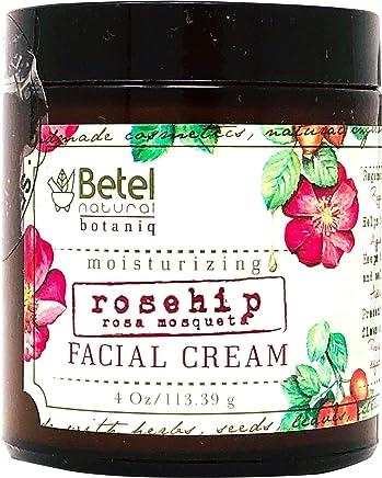 Rosehip Oil Facial Cream - Crema Facial de Rosa Mosqueta - Betel Botaniq - 4 Oz