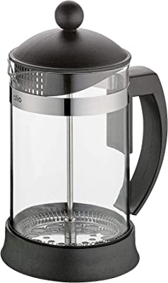 Cilio Marilla Glass French Press with Stainless Plunger and Filter System, 27-Ounce (C345933)
