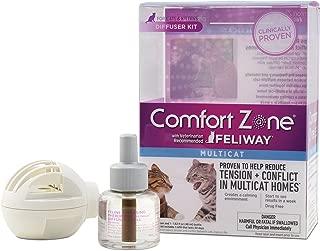 Comfort Zone Multicat Cat Calming Diffuser Kit