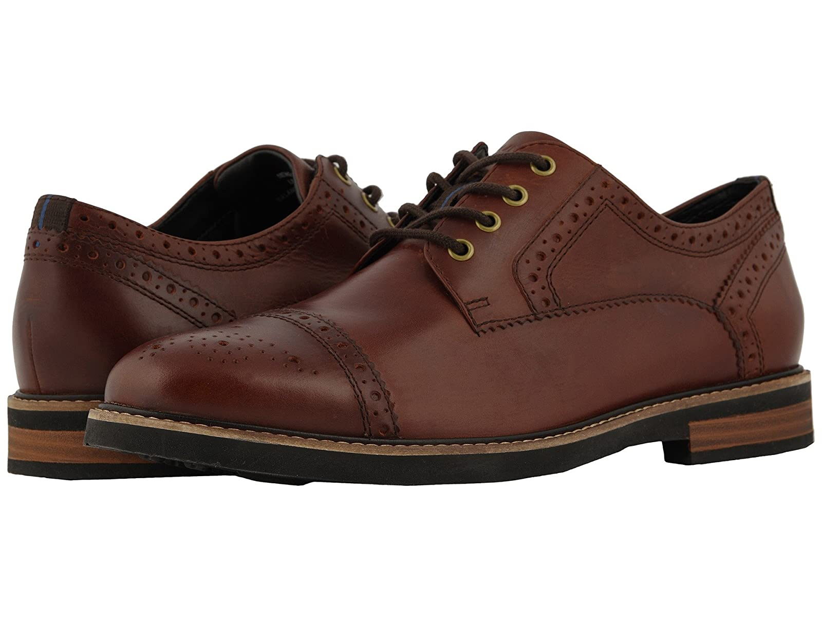 Nunn Bush Overland Cap Toe Oxford with KORE Walking Comfort TechnologyAtmospheric grades have affordable shoes
