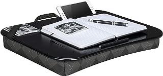 """LapGear Designer Lap Desk - Gray Argyle (Fits up to 17.3"""" Laptop) - Style #45538"""