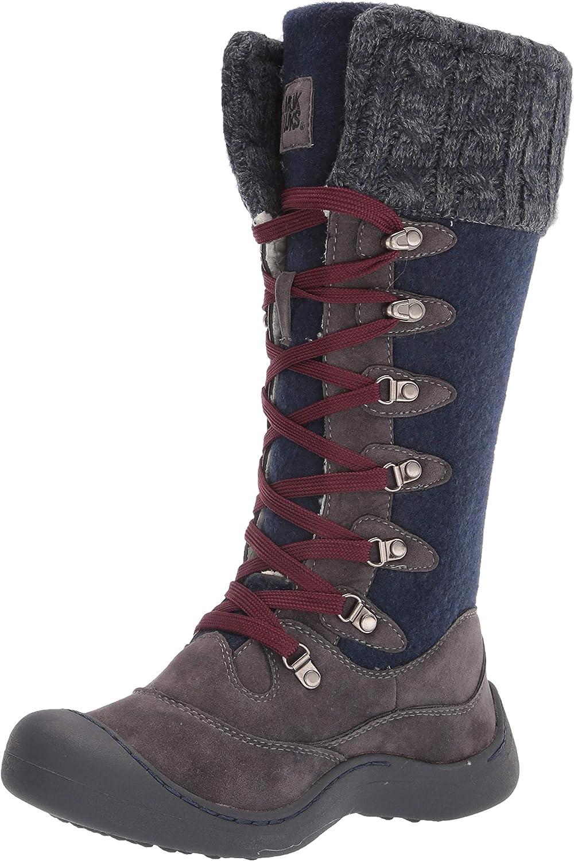 MUK LUKS Women's Lace Up Snow Boot