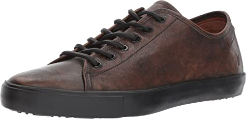 FRYE Men& 039;s Brett Low Walking schuhe, Cognac, 8.5 M