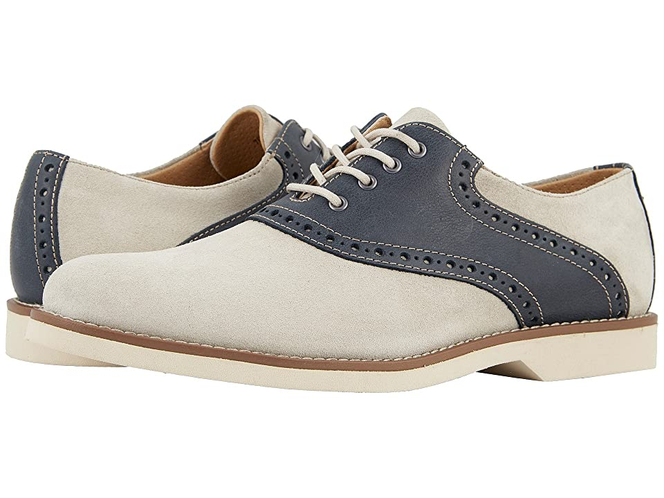 G.H. Bass & Co. Parker (Oyster/Navy Suede/Pull-Up) Men