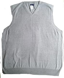Mens Sweater Vest Gray 2XL