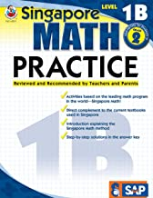 Singapore Math – Level 1B Math Practice Workbook for 1st, 2nd Grade, Paperback, Ages 7–8 with Answer Key PDF