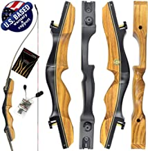 "Southwest Archery Stingray 2.0 ILF Recurve Bow – Available in 60"", 62"", 64"" – Draw Weights in 25-55 lbs – USA Based Company – Perfect for Beginners to Pros – Stringrertool Included"