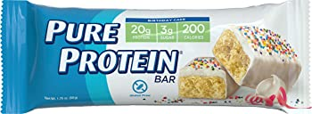 6 Count 1.76oz Pure Protein Bars (Birthday Cake)