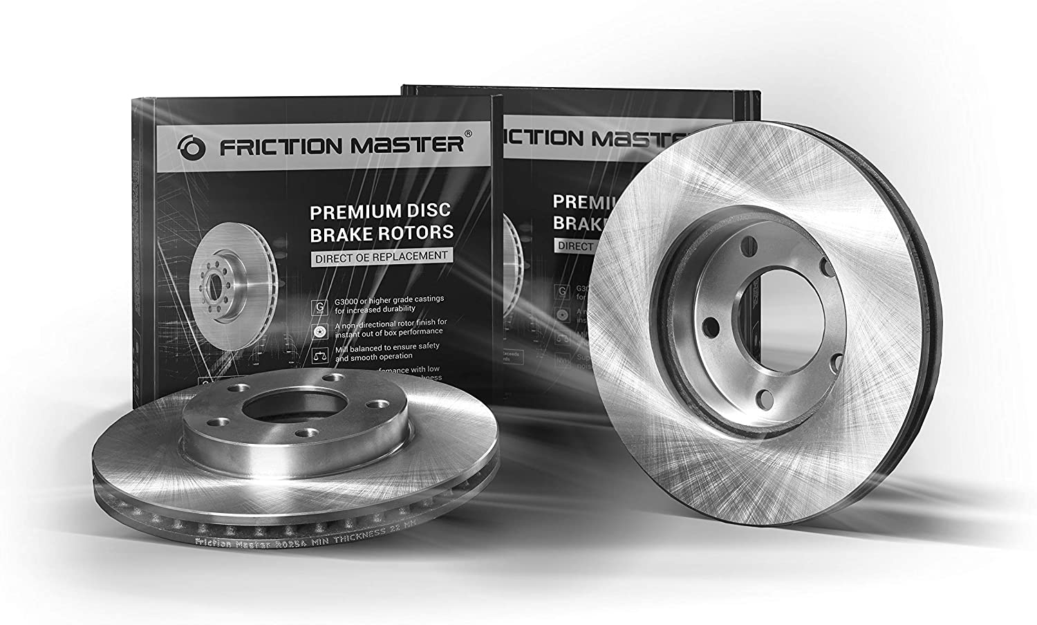 Friction Master R0238 Front Premium Rotors Brake Set Ranking TOP14 Disc OE Manufacturer regenerated product