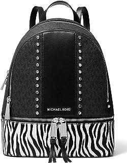 MIJUGGH Canvas Backpack Revolution Flaming Fist Pixel Art Rucksack Gym Hiking Laptop Shoulder Bag Daypack for Men Women
