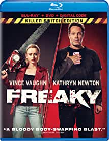FREAKY starring Vince Vaughn arrives on Digital Jan. 26 and Blu-ray, DVD Feb. 9 from Universal