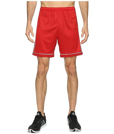Power cortos 17 White Red Squadra Pantalones adidas qnwzx44