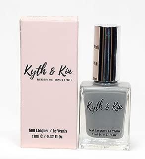 Kyth & Kin Non UV Gel Effect Nail Polish - Sterling Grey