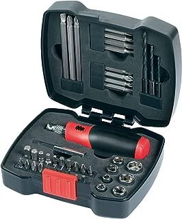 Black & Decker 43 Pieces Ratchet Screwdriver & Socket Set, A7175-xj