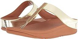 Fino Crystal Toe-Thong Sandals