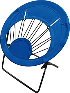 Impact Canopy 0460020060VC, Lightweight Portable Folding Indoor and Outdoor Use, Royal Blue Round Bungee Chair, Light