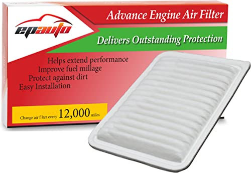 2021 EPAuto GP171 high quality (CA10171) Replacement for Toyota Rigid Panel Engine lowest Air Filter for Camry Gas L4 (2007-2016), Venza Gas L4 (2009-2015); suggest replace with cabin air filter CP285 (CF10285) sale
