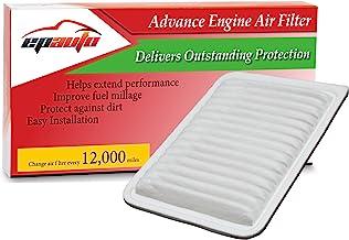 EPAuto GP171 (CA10171) جایگزینی برای فیلتر هواپیما موتور سیکلت تویوتا برای Camry Gas L4 (2007-2016)، Venza Gas L4 (2009-2015)؛ توصیه می شود جایگزینی با فیلتر هوای کابین CP285 (CF10285)