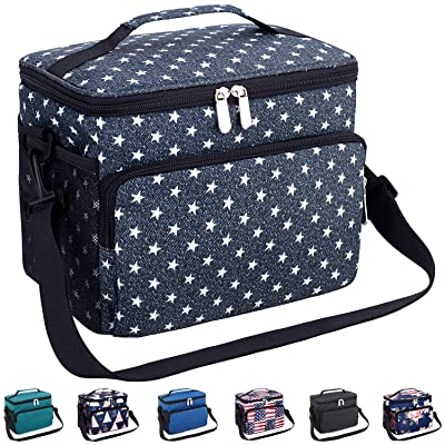 Leakproof Reusable Insulated Durable Cooler Lun...