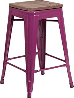 Best purple counter height stools Reviews