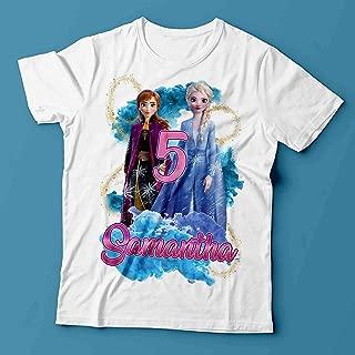 Frozen Birthday Shirt/Frozen Shirt/Elsa Birthday Shirt/Elsa and Anna Birthday Shirt/Frozen 2 Birthday Shirt/Frozen Outfit/Frozen party/Elsa and Anna