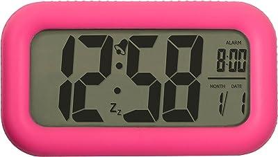 Acctim 14520 Tiber Reloj con alarma, color rosa