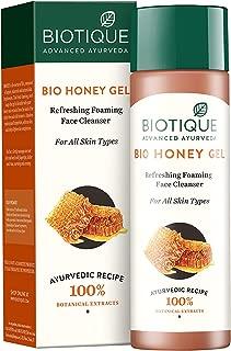 Biotique Honey Gel Lightening Foaming Cleanser-120Ml - (Pack Of 3)