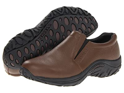 Merrell Jungle Moc Leather (Mahogany Brown) Men
