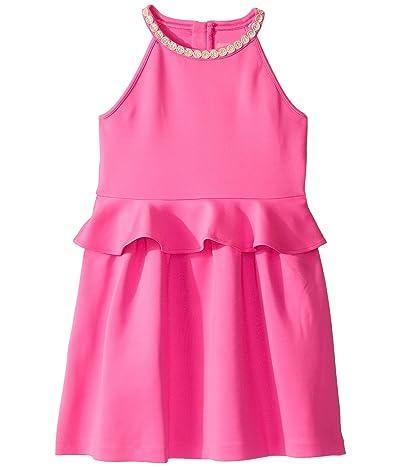 Lilly Pulitzer Kids Caesara Dress (Toddler/Little Kids/Big Kids) (Mandevilla Pink) Girl