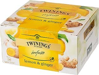 Twinings Infuso Lemon & Ginger Tea - 50 Bags