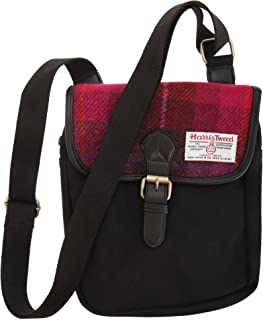 Harris Tweed Authentic Premium Buckle Up Shoulder/Messenger Bag