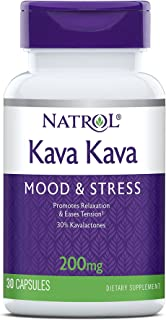 Natrol Kava Kava 200mg Capsules, 30 Count