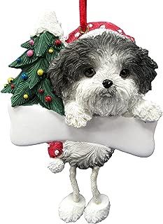 personalized shih tzu christmas ornaments