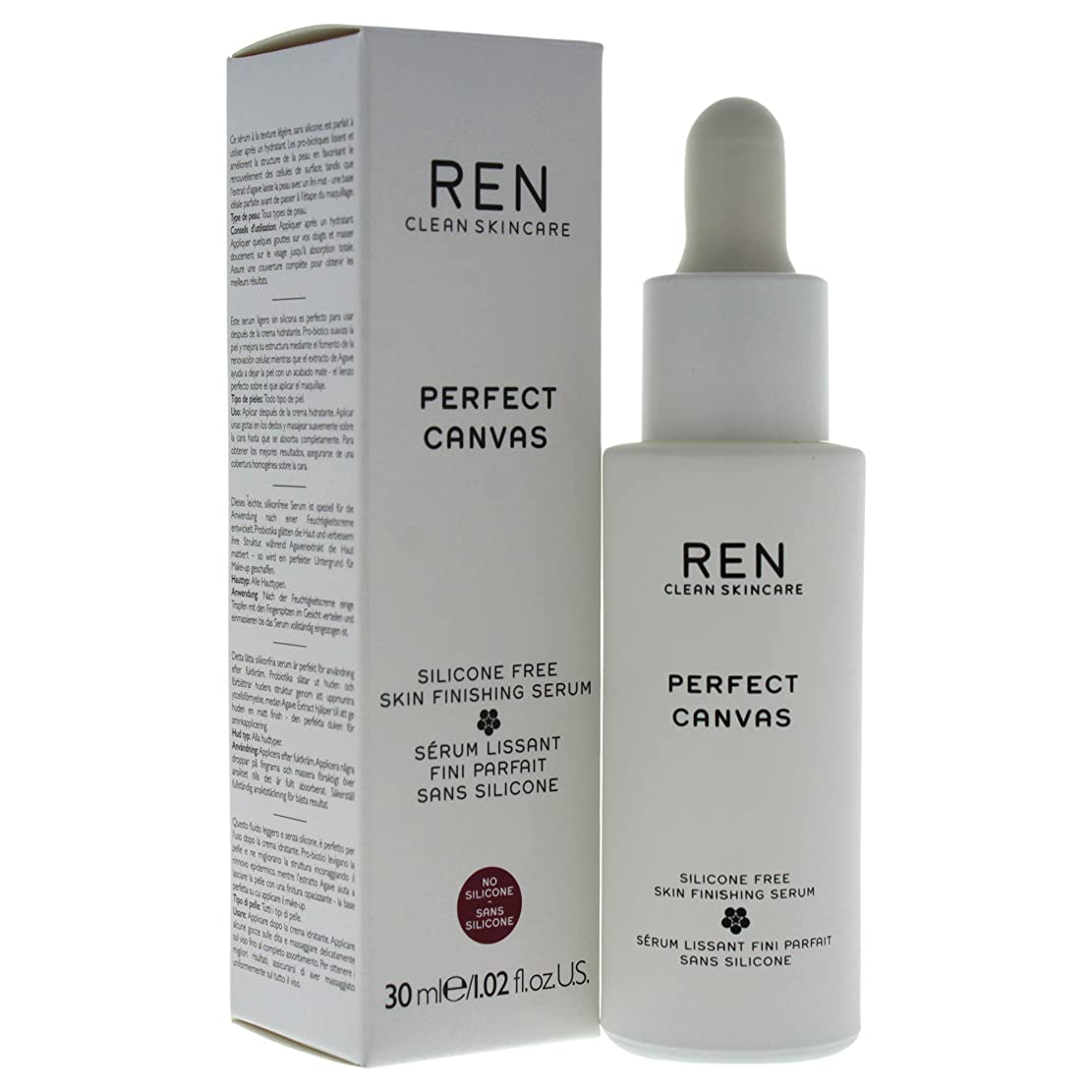 吹雪分離REN - Perfect Canvas Silicone Free Skin Finishing Serum