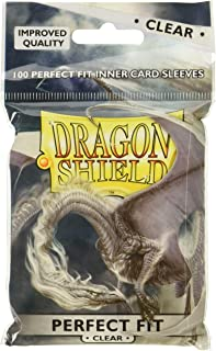 Dragon Shield Arcane Tinman AT-13001 Sleeves (100 Piece), Clear, One Size