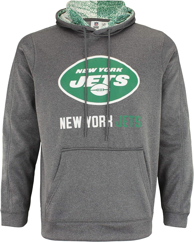 We OFFer Regular store at cheap prices Zubaz NFL Men's Heather Hoodie Fleece Grey