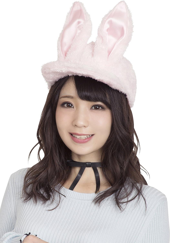 Pastel bunny cap cap cap costume accessories for Pink Unisex ad81d8