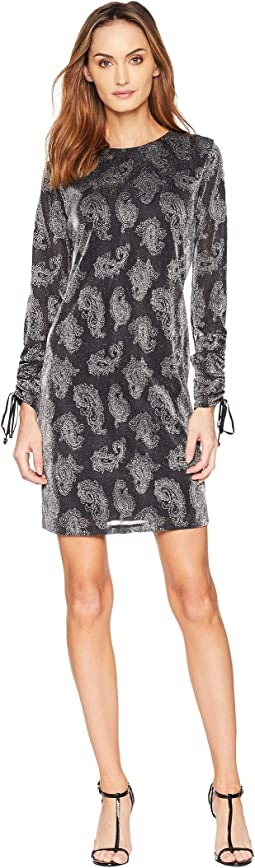 Drawstring Sleeve Dress